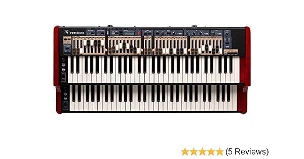 Nord C2D 61 Key Dual Manual Combo Portable Organ