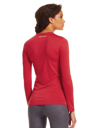Under Armour Women's HeatGear® Sonic Long Sleeve Extra Large Red