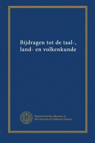 Download Bijdragen tot de taal-, land- en volkenkunde (v.160 no.2-3) (Dutch Edition) pdf