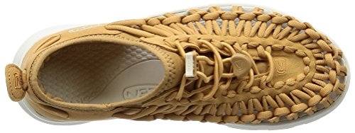 Uneek Women's W White 5 Keen Tan UK Sandals O2 Pink 7 SwqSdt