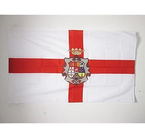 AZ FLAG Bandera de la Provincia DE HUESCA 90x60cm para Palo ...