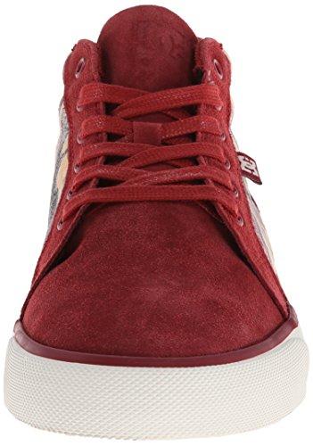 Maroon Men's TX Mid Council DC Sneaker Yxw8YX