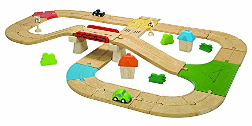 PlanToys City Road and Rail Roadway (Plan City Car)