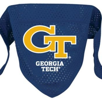 Hunter Georgia Tech Dog Bandana-Mesh Large