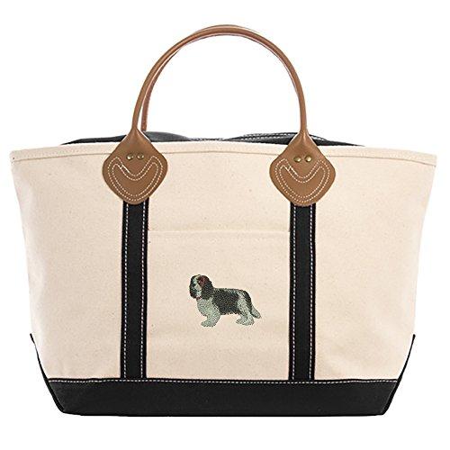 - Cavalier King Charles Tri-Color Tote Bag
