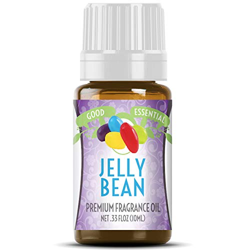 Jelly Bean Scented Oil by Good Essential (Premium Grade Fragrance Oil) - Perfect for Aromatherapy, Soaps, Candles, Slime, Lotions, and More!