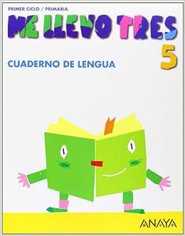 Cuaderno de Lengua 5 (Me llevo tres): Amazon.es: María José Sáenz de Urturi Montemayor, María de los Ángeles González Soler: Libros