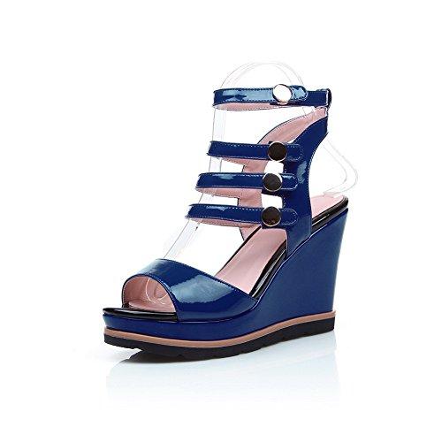 Adee Sandalias de vestir para mujer Azul azul srwMtEPE