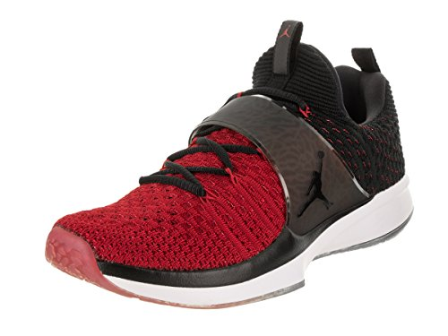 Nike Jordan Men's Jordan Trainer 2 Flyknit Gym Red/Black Black Training Shoe 8.5 Men US by NIKE