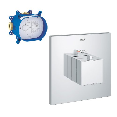Grohe K19928-35026-000 GrohFlex Custom Shower Thermostatic Trim with Control Module Trumbull Industries