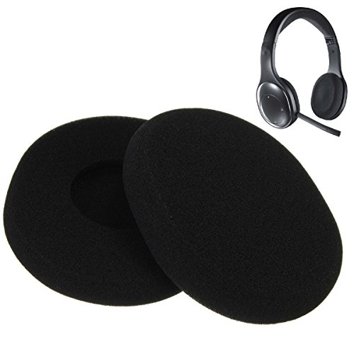 Lot of 10 Pairs of Replacement Foam Earpads Ear Pads Ear Cushions For Logitech Wireless Headset H800 Headphones