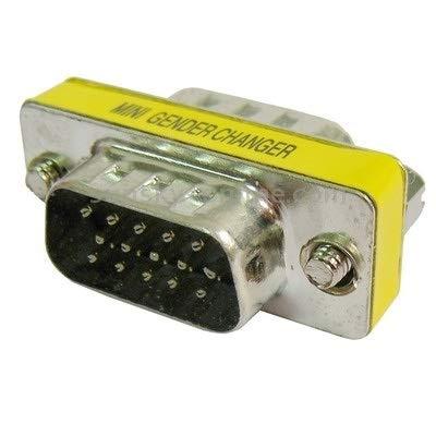 DDTAO VGA 15Pin Male to VGA 15Pin Male Adapter