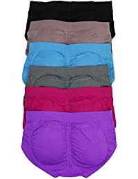 Women's Pack of 6 Padded Briefs