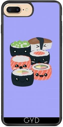 Coque Silicone pour Iphone 7 Plus / 8 Plus - Ensemble De Sushi Drôle by ilovecotton
