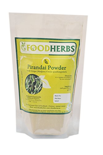 Veldt Grape Cissus Quadrangularis: Foodherbs Hadjora/Pirandai/Cissus Quadrangularis Powder