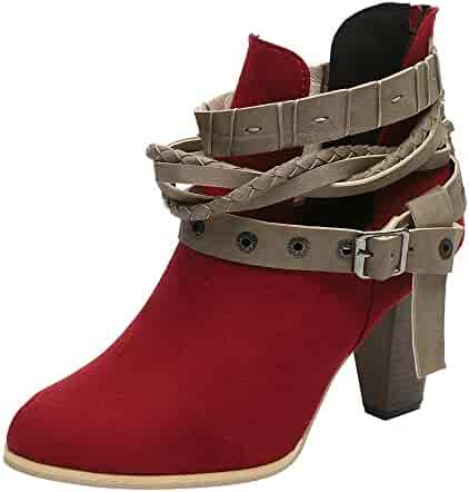 b25a6276c13 Shopping Dress - Red - Ankle & Bootie - Boots - Shoes - Women ...