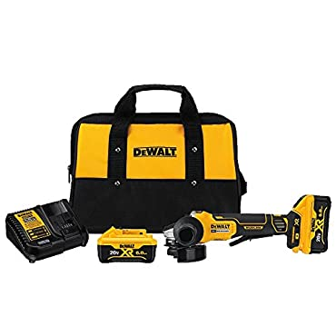 DeWalt DCG413R2 20V MAX XR Brushless Paddle Switch Small Angle Grinder Kit