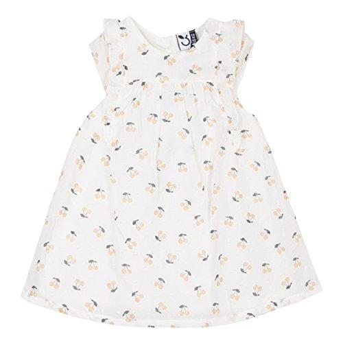 3 blanco Vestido Girl Baby apagado Manzanas Blanco rCHqwxr7