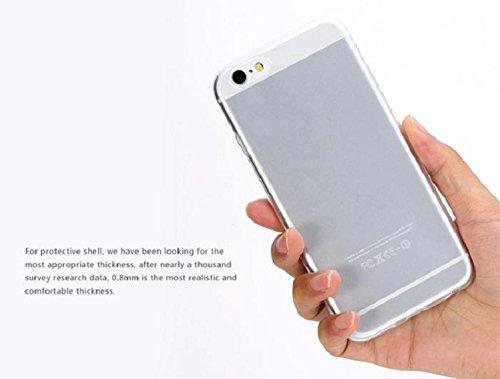 "Culater® für Iphone 6 Plus (5.5"") Ultra dünn 0.3mm Klar Transparent TPU Gummi Hülle Case Cover"