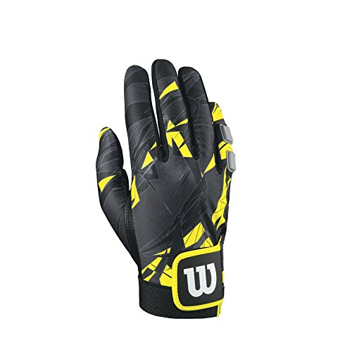Wilson Sting Racquetball Glove, Yellow/Black, Medium