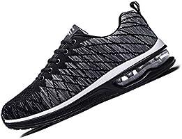 [WLK] ランニングシューズ スニーカー エアクッション ウォーキングシューズ ジョギング クッション 運動靴 防滑 軽量 通気