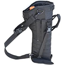 Explorer® Tactical Carbine Gun Case with shoulder straps and Inner Storage for Shooting Tactical Assault Gear Hiking Waist Bag Compact Utility Military Surplus
