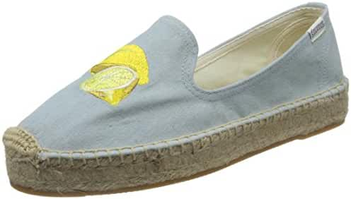 Soludos Women's Lemon Platform Slipper