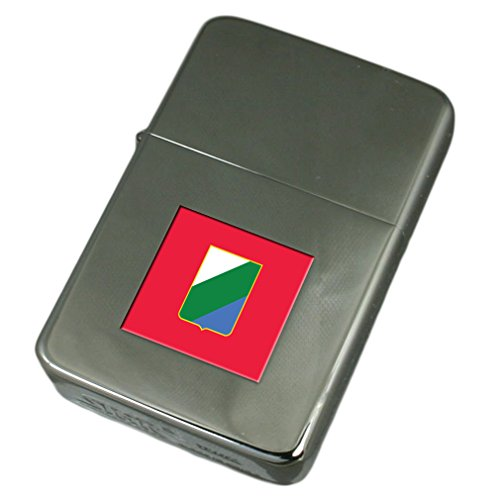 Engraved Lighter Abruzzo Region Italy Flag by Select Gifts