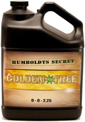 ★ #1 Best Plant Food For All Plants And Trees★ Humboldts Secret Golden Tree - Growth Accelerator - Sick Plant Rescuer - All-In-One Nutrient Additive - Super Concentrated - 100% Organic - Use on Trees, Vegetables, Flowers, Fruit