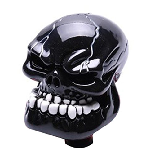 [해외]Mavota Black Skull 수동 자동 기어 변속 손잡이/Mavota Black Skull Manual Automatic Gear Shift Knobs
