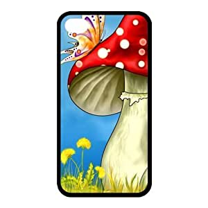 Custom Mushroom Back Cover Case for iPhone 6 4.7 JN6 4.7-76 4.75