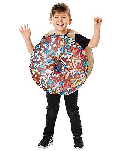 Kids Donut Halloween Costume (Seasons Direct Halloween Toddler Chocolate Donut Costume)