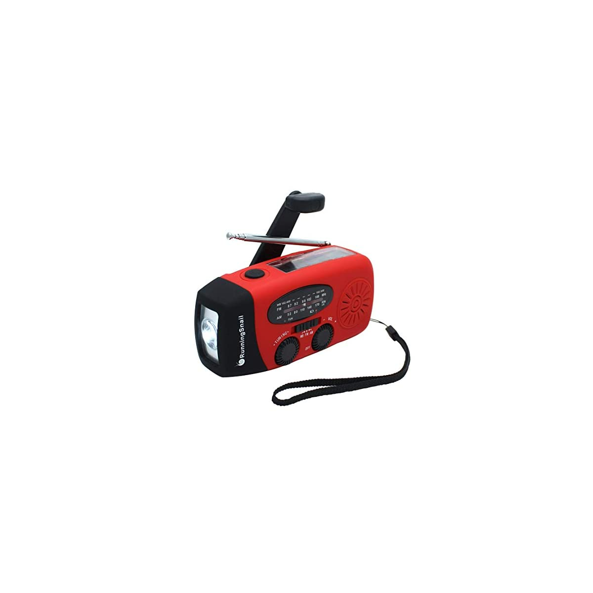 SaleProductsOffer - No.1 Best Online Store 41UzlNS6n0L [Upgraded Version] RunningSnail Emergency Hand Crank Self Powered AM/FM NOAA Solar Weather Radio with LED Flashlight, 1000mAh Power Bank for iPhone/Smart Phone