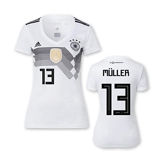 Maillot de football pour femme - DFB - Coupe du monde 2018 - Numéro 13
