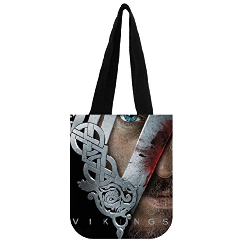 Timzhi Trade Novelty Your Own Picture Vikings History Show Helmut By Custom Tote Bag (Viking Helmut)