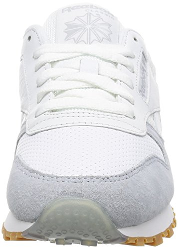 Reebok Classic Baskets L Blanc Femme Leather basses HHwrdq78