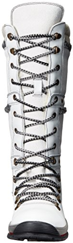 Bos. & Co. Womens Gabriella Snø Boot Hvit / Off White Arizona / Olje Semsket Skinn
