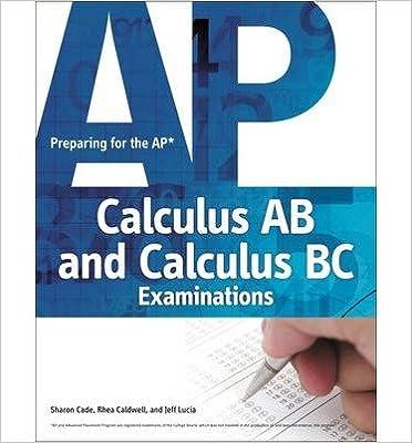 Preparing for the AP Calculus AB and Calculus BC