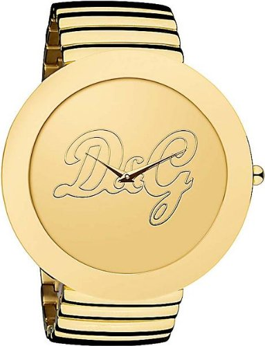 Dolce & Gabbana D&G - Reloj analógico de cuarzo para mujer con correa de acero inoxidable