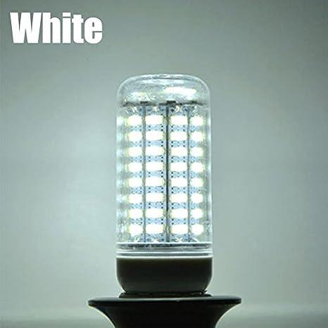 1 bombilla LED SMD de maíz para lámpara de araña de interior, luz blanca cálida