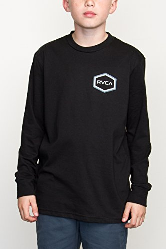 c365cd82 RVCA Big Boys' Double Hex Long Sleeve Tee - Import It All