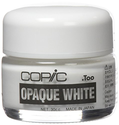 - Copic Marker Copic Opaque White Pigment 30cc Jar