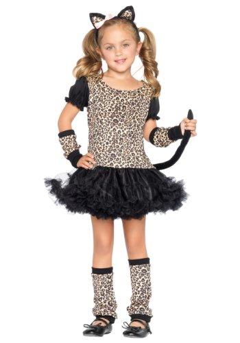 Leg Avenue Children's Little Leopard Costume - Girl Cat Costumes For Halloween