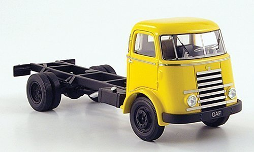DAF A50, gelb, langer Radstand, 1955, Modellauto, Fertigmodell, Neo 1:50