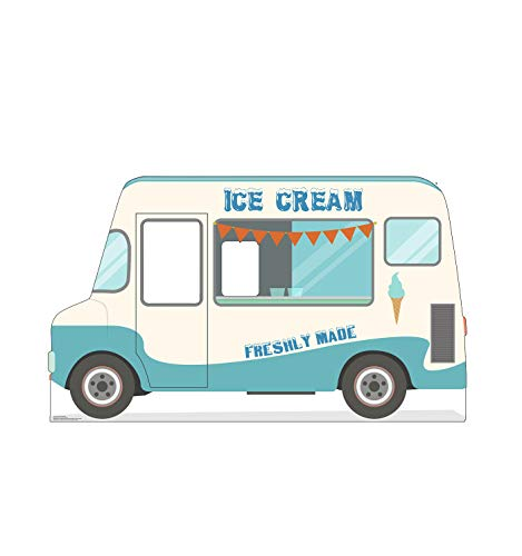 Advanced Graphics Ice Cream Truck Stand-in Life Size Cardboard Cutout Standup -