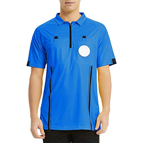TopTie – Camisas de árbitro para hombre