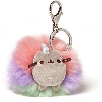 """3/"""" Ganley the Hedgehog Bright Poof Keychain Purple Gund"""