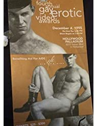 Ken Ryker Gay Erotic Video Awards Ticket in 1995, (not signed)