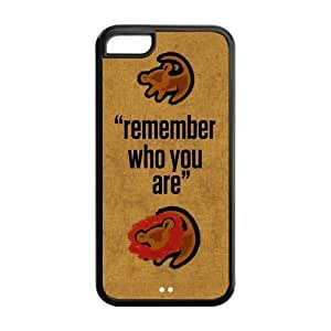 Customize Cartoon Series The Lion King Back Case for iphone 5C JN5C-1606