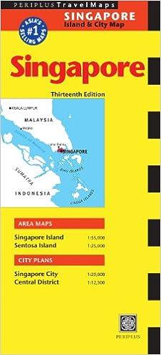 Buy Singapore Travel Map Thirteenth Edition (Periplus Travel Maps ...